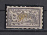 Bi6378/ FRANCE – MERSON – Y&T # 122 MINT MH CERTIFICATE – CV 1215 $