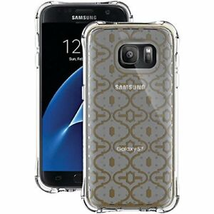 Ballistic Samsung Galaxy S7 Gold KASBAH Transparent Jewel Mirage Series Case