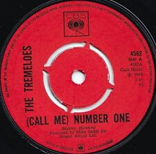 Tremeloes ORIG UK 45 (call me) Number one VG+ 1969 CBS 4582 Psyche Pop Rock