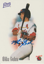 Mike Gulan 1996 Best rookie RC autograph auto card