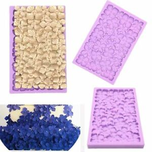 Flower Lace Silicone Fondant Mould Cake Decoating Border Baking Mold Sugarcraft