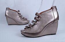 NEW!! L'Amore Des Pieds Wedge Sandal- Metallilc  - Size 7 M  $245  (P0)