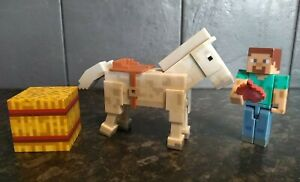 Minecraft Steve with a white horse Mojang ( set 165934) Figures