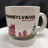 Pennsylvania Runs on Dunkin' Donuts Mug Cup Destinations Collection 2012