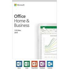Microsoft Office Home & Business 2019 For Windows 10 & Mac - Lifetime License