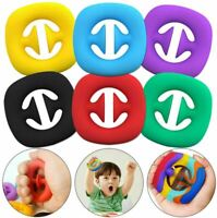 Squeeze Snap Snappers Toy Squeeze Grab Grip hand Suction Fidget Toy Sensory Stre