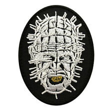 Hellraiser Pinhead Embroidered iron on sew on 3 inch Patch