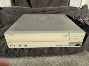 Sony LDP-1500 Laser Disc Player