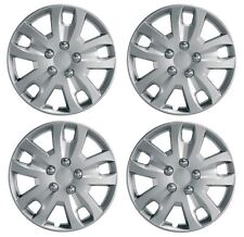 "Set 4 Wheel Trims Hub Caps 15"" Covers fits Fiat Punto,Doblo,Multipla,Panda,Stilo"
