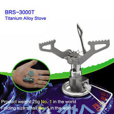 Outdoor Camping Hiking Titanium Alloy Stove Gas Furnace Burner Picnic Cookout