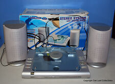 Coby Cx-Cd375 Cd 20 Watts Stereo System Desk-Wall Mount Design In Box