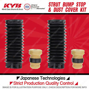 2x Front KYB Strut Bump Stop + Dust Cover Kit for Peugeot 407 RHR RHH 3FZ 3FY
