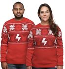 Ugly Xmas Sweater Pok mon Winter Sweater 2XL Red New with Tags Sealed