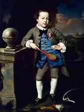 John singleton copley portrait d'un garçon old master art painting print 1648OM