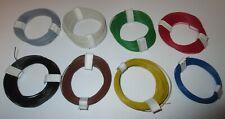 Decoderlitze Hochflexible 0,04 mm²  8 x 10m Ringe    [1m = 0,175€]  NEU