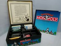 Vintage MONOPOLY Game 1935 Commemorative Edition 1985 50 years in Tin Metal Case