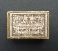 Boite plume BLANZY POURE TREMPLIN pen nibs box Schreibfeder pennini