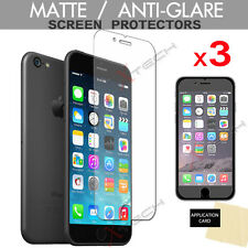 """3 Pack ANTI-GLARE MATTE Screen Protector Guards for Apple iPhone 6/6s Plus 5.5"""""""