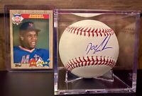 """Dwight """"Doc"""" Gooden Autographed OML Baseball JSA Certified Case & Card Included"""