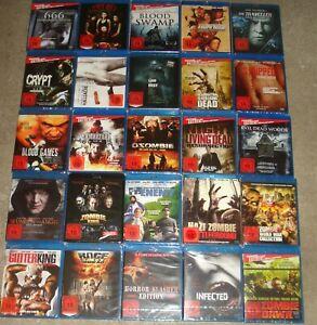 Blu Ray Paket Sammlung über 30 Filme FSK 18 NEU (1)