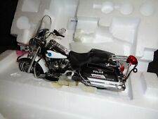 FRANKLIN MINT HARLEY DAVIDSON ROAD KING POLICE UNITY PEACE OFFICER MOTORCYCLE