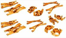 Integy Alum Billet Machined Suspension Set for Traxxas 1/5 X-MAXX 4x4 Orange