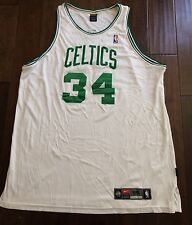 Authentic Nike Paul Pierce Boston Celtics Sewn Dry Fit Jersey Men's 56/3XL