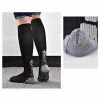 Compression Socks Women Men Long Tube Knee Nylon Hosiery Outdoor Sports Footwear