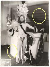 24x18cm Älteres Foto Studio Harcourt Burlesque Nackt Akt Revuegirl Paris photo 4