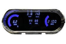 Chevy Nova DIGITAL DASH PANEL 1963-1965 Gauges  Intellitronix Blue LEDs LS SWAP