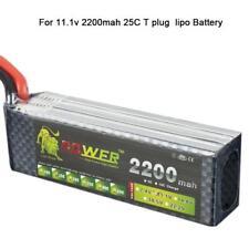 3S 11.1V 2200mAh 25C LiPo Battery for RC Remote Control Car Aircraft Boat DE!!!