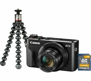 CANON PowerShot G7 X MK II Compact Camera Vlogging Kit