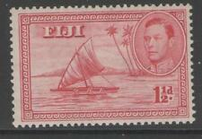 George VI (1936-1952) Mint Hinged Fijian Stamps (Pre-1967)