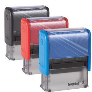 SONDERANGEBOT Adressstempel Firmenstempel Imprint 12S (5 Zeilen inkl. Logo)