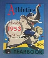 Vintage 1953 Philadelphia A's Athletics Official Yearbook
