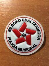 PATCH POLICE SPAIN BASQUE PAIS VASCO BILBOKO UDALTZAINGOA ORIGINAL!