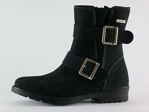 Ricosta UK12//EU31 Girls Nicole Ex Navy Leather Ankle Boots 50/%OFF RRP £44