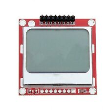 Nokia 5110 LCD Module Backlight for Arduino White 84 x 48 one Mega Prototyp$N2U3