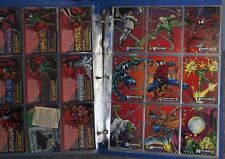 Spiderman Fleer Trading Cards 150 includes Checklist Card Comics $1.00 each