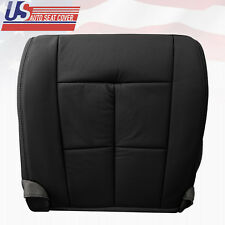 07-12 Lincoln Ultimate Driver Bottom Seat Cover in Leather Charcoal Black