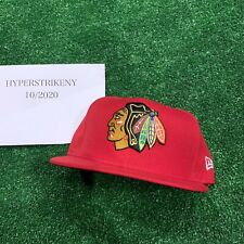 New Era 5950 59fifty Chicago Blackhawks Brand New NHL Size 7 1/2 Fitted Hat Cap