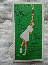 1936 MRS E. FEARNLEY-WHITTINGSTALL JOHN PLAYER & SONS CIGARETTE CARD #3
