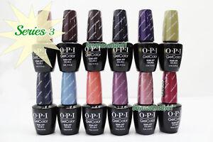 Gel Polish OPI GelColor Soak Off Nail Colours 15ml 0.5oz Choose Any * Series 3