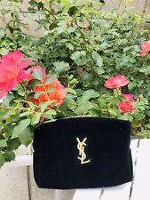 YSL Mini Velvet Pouch