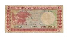 New listing Sierra Leone - Two (2) Leones 1967