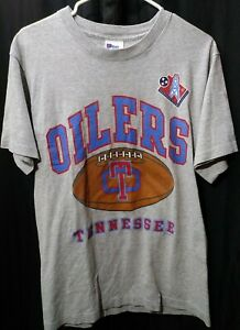 Vintage 1997 NFL Tennessee Oilers Pro Player M Shirt - RARE Titans First Season
