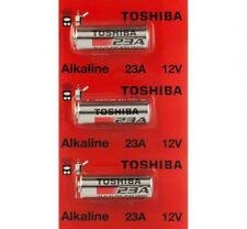 3 A23 Toshiba 23A 23AE 21/23 GP23 23GA MN21 12 Volt 12v Batteries