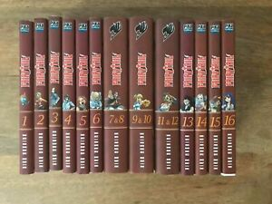 LOT MANGA FAIRY TAIL TOME 1 A 16 INCLUS
