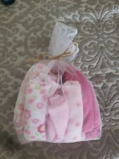 Baby Girl washcloths NEW! 20 pieces!