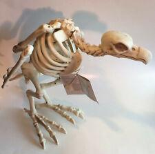 Gloom Halloween Animated Vulture Skeleton Bird Lights Sounds Prop Decoration New